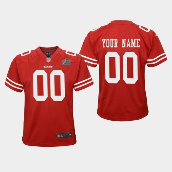 san francisco 49ers custom jersey